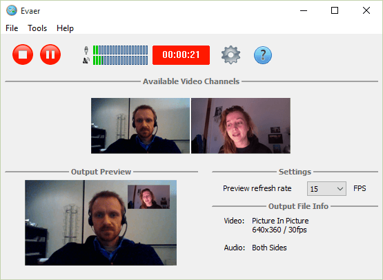grabar videollamadas skype evaer