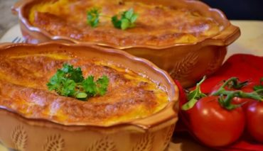 lasaña de verduras facil y rapida